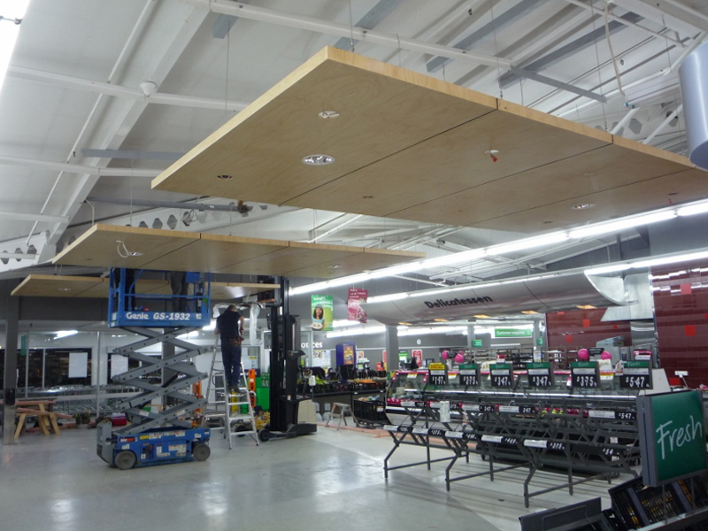 Commercial Construction Rotorua Suspended Ceiling Installation
